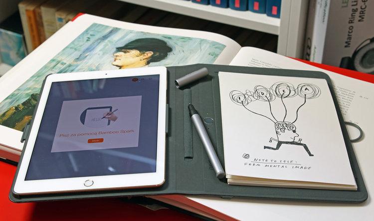 Wacom Bamboo Spark – test graficznego tabletu innego, niż wszystkie - tablet dla grafika tablet graficzny