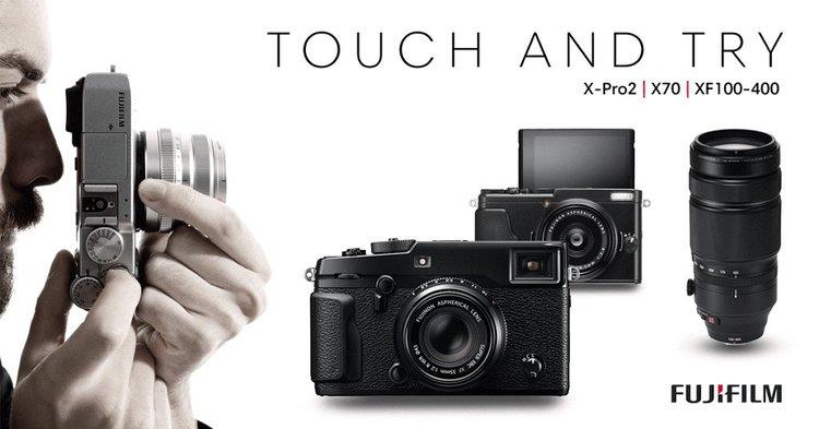 Przedsprzedaż Fujifilm X-Pro 2 i Roadshow - prezentacja aparatu roadshow