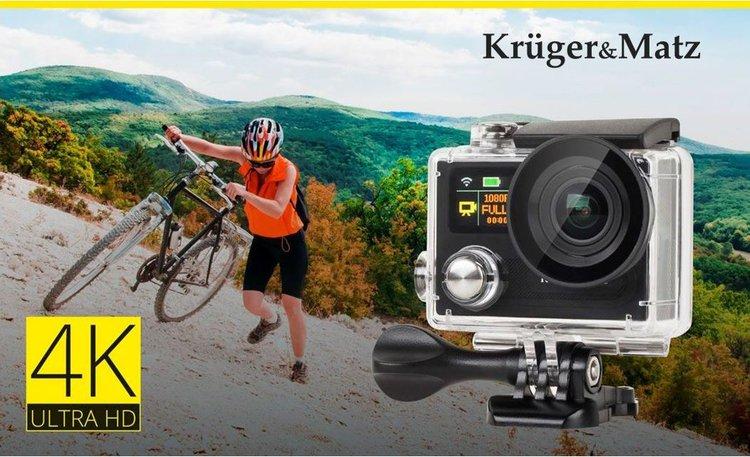 Nowa kamera sportowa 4K od Kruger&Matz - kamera sportowa