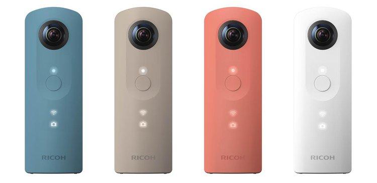 Ricoh wprowadza do sprzedaży kamerę sferyczną THETA SC -