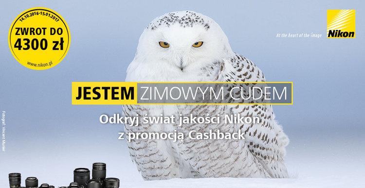 Nowy cashback Nikona już od 14 października! -