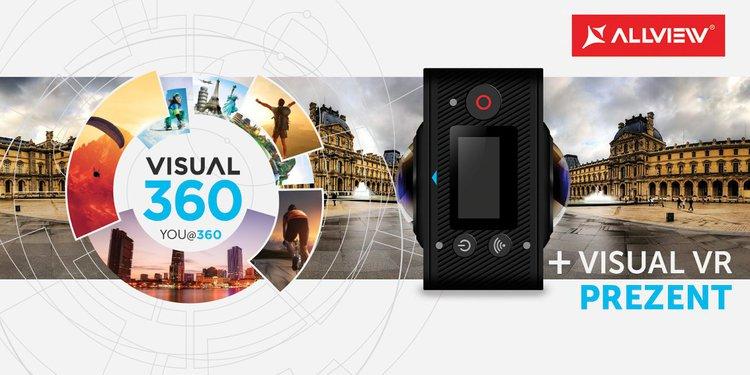 Allview zapowiada Visual 360° – kamerę gotową do akcji -