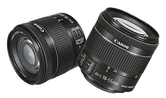 Canon wprowadza obiektyw EF-S 18-55mm f/4-5.6 IS STM -