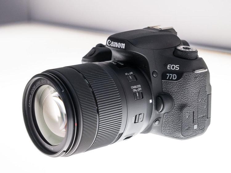 Canon EOS 77D – lustrzanka z procesorem DIGIC 7 -
