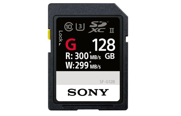 Sony prezentuje najszybsze na świecie karty pamięci SD z serii SF-G -
