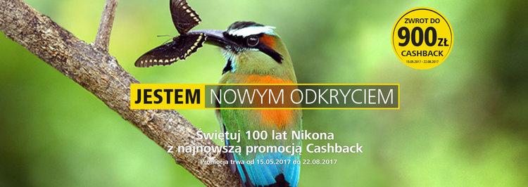 Startuje nowy cashback Nikona już od 15 maja -