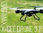 Overmax X-Bee Drone 3.1 - test drona