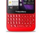 BlackBerry Q5 na filmie Budżetowy BlackBerry Q5 Budżetowy telefon z QWERTY Smartfon z klawiaturą QWERTY