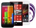 """4.5-calowy wyświetlacz abonament w Play Motorola w Play Nokia Lumia 520 w Play Nokia Lumia 925 w Play oferta play Samsung Galaxy Core Plus w Play smartfon z ekranem 4.5"""" Sony Xperia M w Play"""