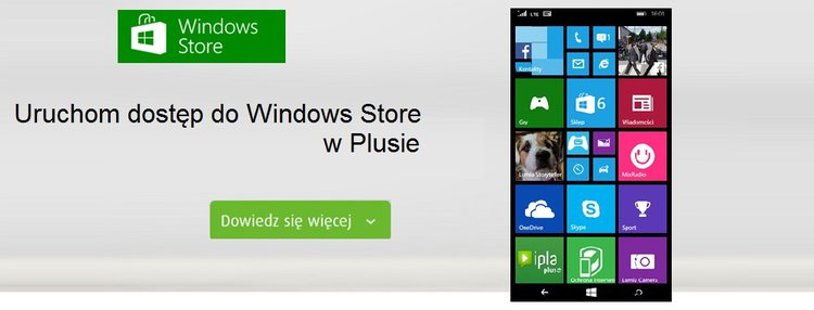 Plus wprowadza nową usługę płatności w Sklepie Windows - Plus Windows Phone windows store