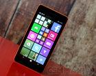 4-rdzeniowy procesor 5-calowy wyświetlacz 5-megapikselowy aparat ARM Qualcomm Snapdragon 200 Dual-SIM Lumia Denim Tani smartfon