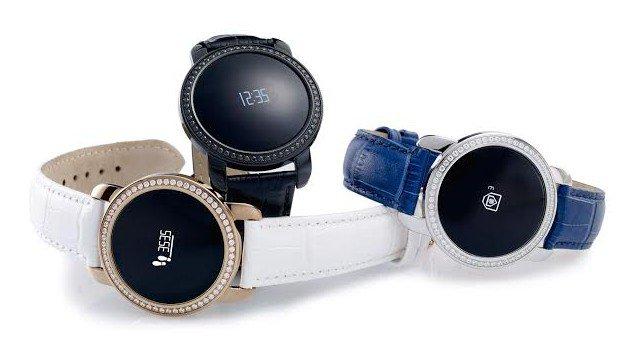Zaczęło się. Kolejny smartwatch z cyrkoniami Swarovskiego - kryształy Swarovskiego Smartwatch Swarovski
