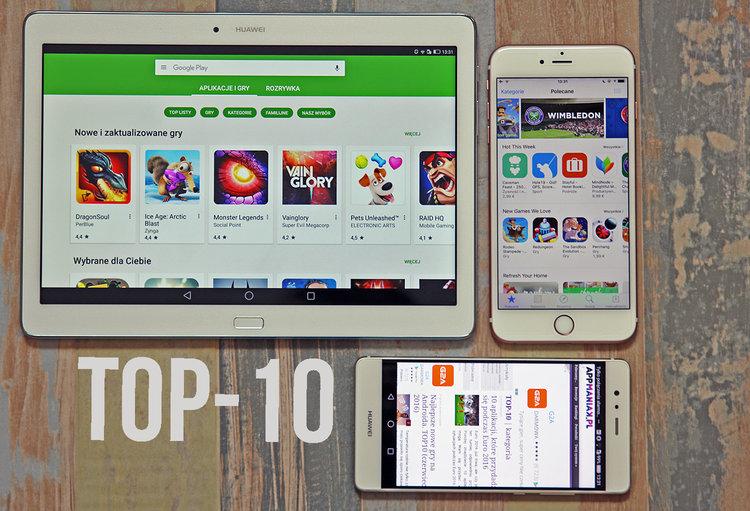 Najlepsze gry mobilne na Androida i iOS -