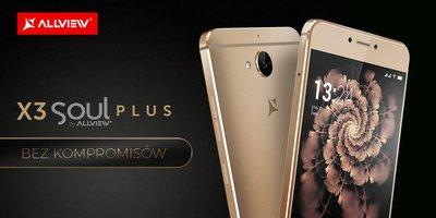 Allview X3 Soul Plus – kup nowy smartfon i zgarnij tablet -