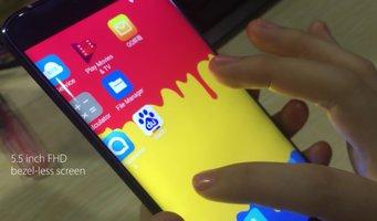 Elephone S7 na wideo. Ekran krawędziowy potwierdzony -