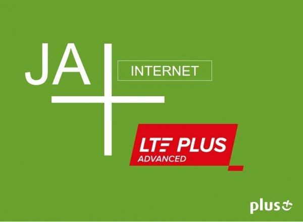 """Internet LTE Plus Advanced także w ofercie """"na kartę"""" Plusa -"""