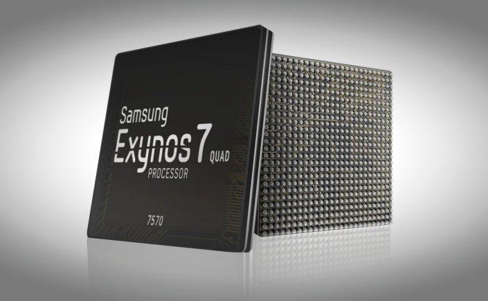 Samsung Exynos 7 Quad 7570. Cztery rdzenie i 14nm -