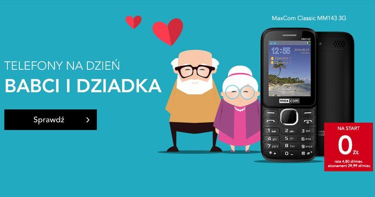 Plus:  Telefony na dzień babci i dziadka -