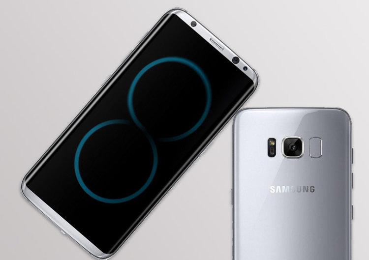 Samsung Galaxy S8 i S8 Plus razem na  zdjęciu -