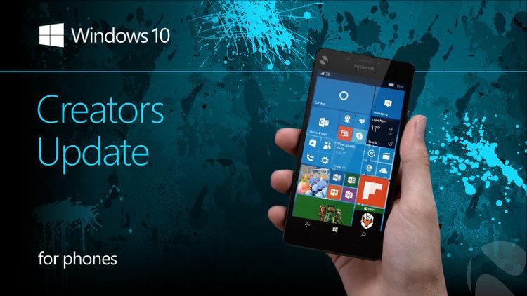 Creators Update dla Windows 10 Mobile – lista smartfonów i nowości - Creators Update
