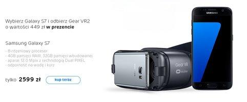 Kup Galaxy S7, dostaniesz Gear VR 2 w prezencie. Są też inne promocje -