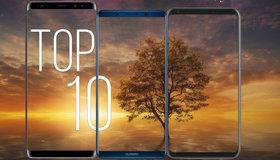 TOP10 smartfony bez ramek