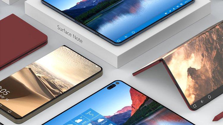 Surface Note. Smartfon i tablet w jednym -
