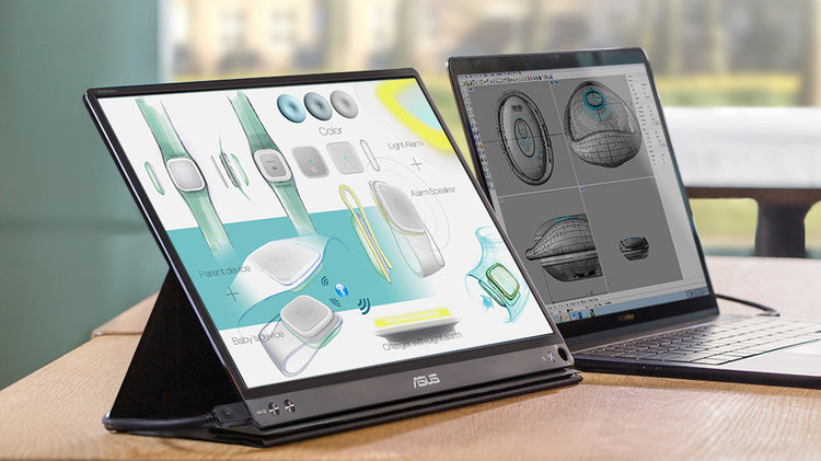 A może… monitor do laptopa na USB? Oto ASUS ZenScreen -