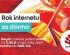 Internet w smartfonie internet za darmo nowa promocja Heyah Rok internetu za darmo