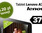 4-rdzeniowy procesor 7-calowy wyświetlacz Kitkat Lenovo Seria A modem 3G niższa cena