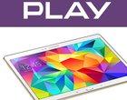 10.5-calowy wyświetlacz 4-rdzeniowy procesor 8-megapikselowy aparat 8.4-calowy wyświetlacz abonament w Play AMOLED Android 4.4 KitKat czujnik biometryczny Internet w Play oferta play Samsung Galaxy Tab S 10.5 LTE w Play Samsung Galaxy Tab S 8.4 LTE w Play Snapdragon 800