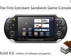 5-calowy ekran Android 4.0 Ice Cream Sandwich konsola