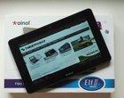 2-megapikselowy aparat 7-calowy tablet Amlogic8726-M6 Android 4.0 Ice Cream Sandwich dwurdzeniowy procesor tablet budżetowy tablet do 1000 zł tani tablet
