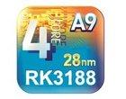 4-rdzeniowy procesor ARM Cortex A9 RK3188