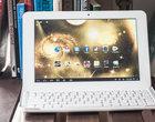 AllWinner A31 Android 4.1 tablet 10-calowy tablet z IPS tablet z klawiaturą tani tablet z Blutooth zaczynamy testy