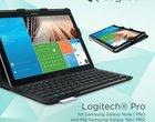 case CES 2014 klawiatura Bluetooth Logitech PRO