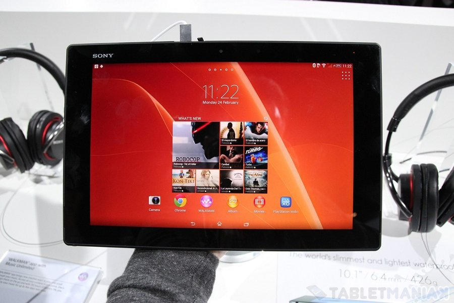 Sony Xperia Tablet Z2 / fot. tabletManiaK.pl