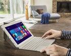 10.1-calowy wyświetlacz 4-rdzeniowy procesor Intel Atom Z3735F nowa wersja tabletu Windows 8.1 z Bing