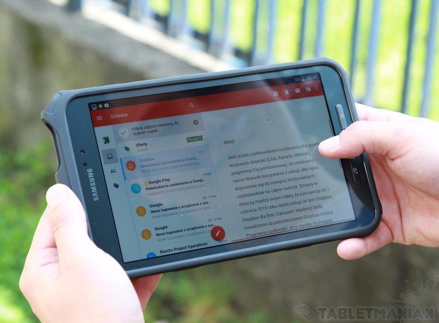Samsung Galaxy Tab Active 8.0 / fot.tabletManiaK.pl