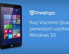 aktualizacja oprogramowania Windows 10 na tabletach Prestigio