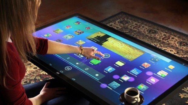 Duży tablet