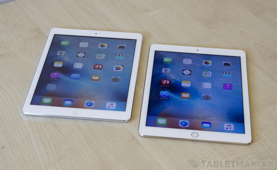 iPad Air oraz iPad Air 2 / fot. tabletManiaK.pl