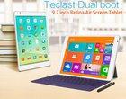 9.7-calowy wyświetlacz dobry tablet dual OS dwa systemy gearbest Intel Atom Z3736F modem 3G wysoka rozdzielczość