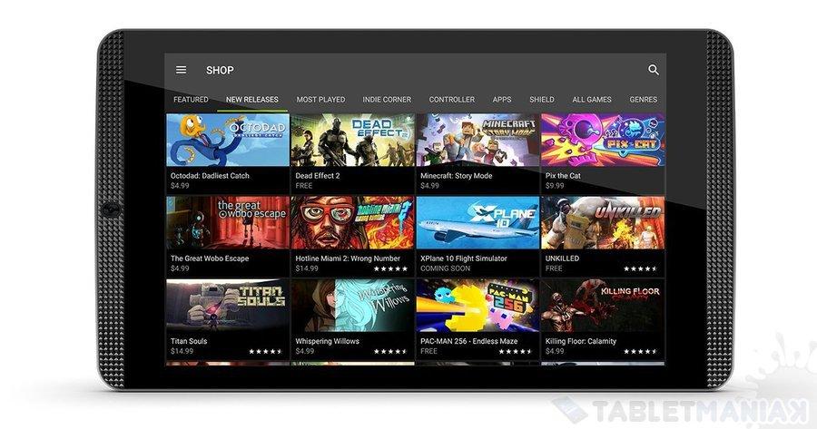 NVIDIA SHIELD Tablet K1_2 | tabletManiaK.pl