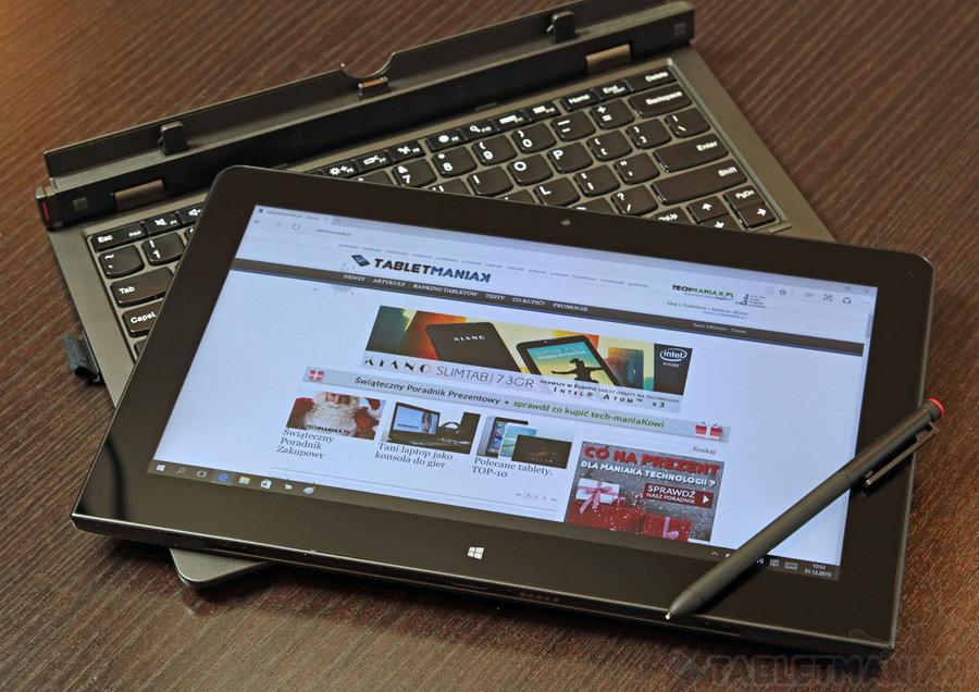 Lenovo ThinkPad Helix 2 / fot. tabletManiaK.pl
