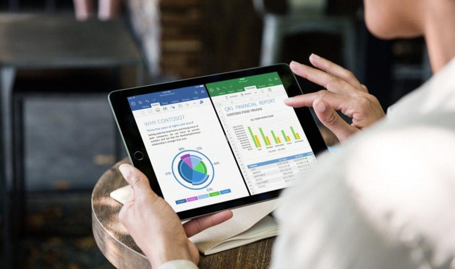 iPad Pro podczas codziennego działania