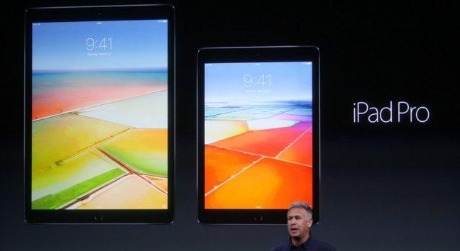 9,7-calowy iPad Pro i większy brat