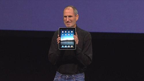 Steve Jobs prezentuje iPada / fot. Mike Lee, Flickr.com