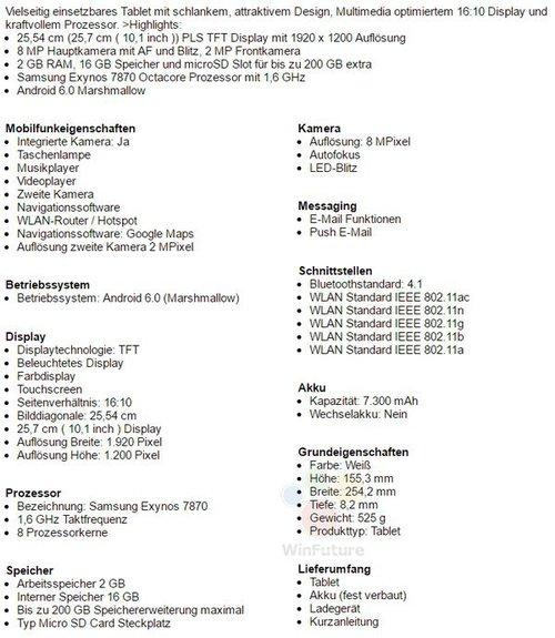 samsung galaxy tab a 10 1 specyfikacja ceny tabletmaniak pl