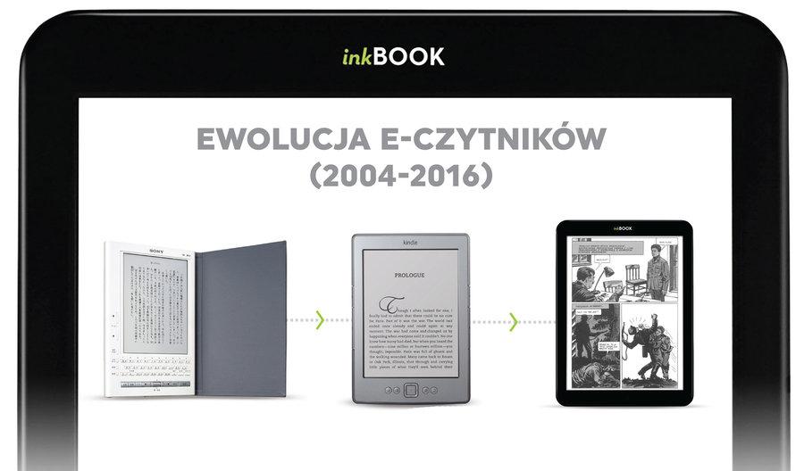 Ewolucja e-czytników na przestrzeni lat